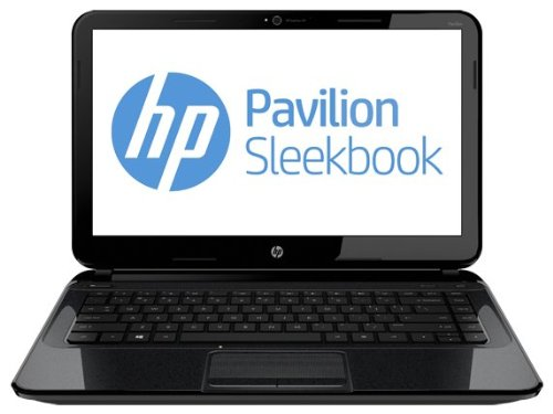 HP Pavilion 14z-b100 Sleekbook,AMD Dual-Core Processor E1-1200 1.4Ghz CPU, 4GB memory, 500GB hard drive, Windows 8 Notebook with HDMI & Webcam