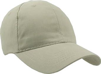 12 Bulk Wholesale Lot- Adult Size (Adjustable) Brushed Cotton Caps by AMC