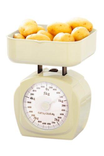 Premier Housewares 0807208 Balance de Cuisine Crème 5 kg
