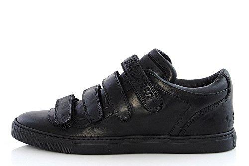 Dsquared2 ,  Herren Niedrige Sneaker , Mehrfarbig - Nero - Größe: 40 thumbnail