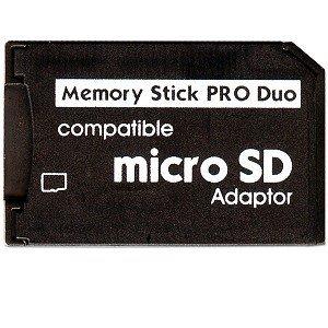 Keple® Micro SD auf Pro Duo Memory Stick Card Adapter für Sony PSP und Digital Kameras