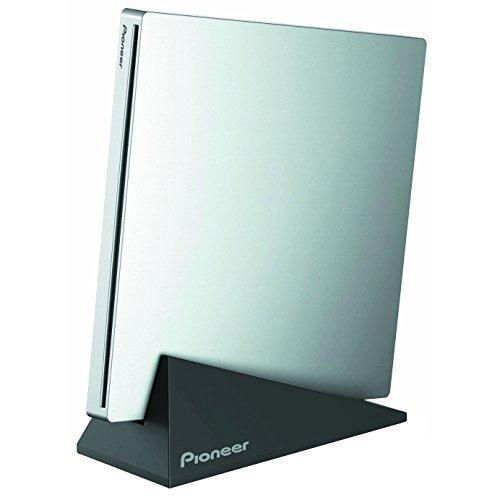 パイオニア(Pioneer) Windows対応 スロットイン方式 BDXL対応 外付型ポータブル USB3.0接続 BD/DVD/CDライター シルバー BDR-XU03J