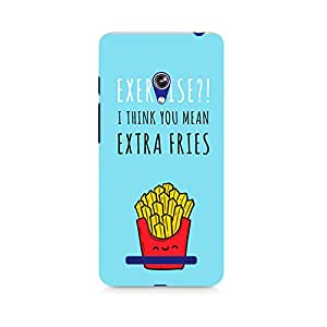 Ebby Extra fries Premium Printed Case For Asus Zenfone Go