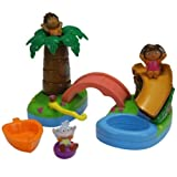 Fisher-Price Dora the Explorer Floating Island Bathtime Adventure