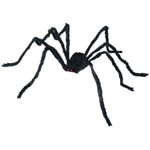 Black Spider Spider Decoration (1 per package) - 1