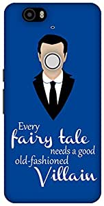 The Racoon Lean Every Fairytale hard plastic printed back case / cover for Huawei Nexus 6P