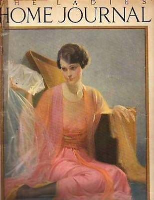 1921 Ladies Home Journal August - Albert Payson Terhune