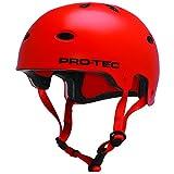 Pro-Tec B2 Skate Helmet Orange Satin Blood Orange Size:XL
