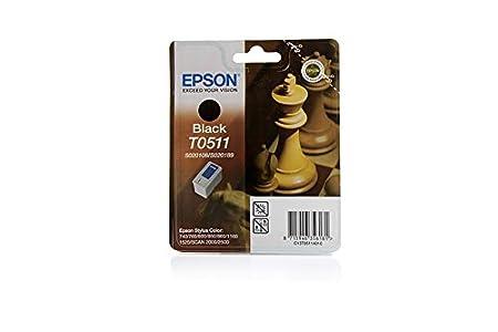 Epson Stylus Color 850 NE - Original Epson C13T05114010 / T0511 - Cartouche d'encre Noir -