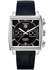 NEW TAG HEUER MONACO MENS WATCH CAW2110.FT6005