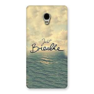 Just Breath Back Case Cover for Lenovo Vibe P1