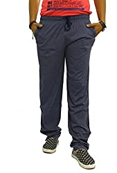Jugend men's Cotton Track Pants with 1 side Zipper Pocket
