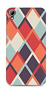 Amez designer printed 3d premium high quality back case cover for HTC Desire 828 (Pattern 16)