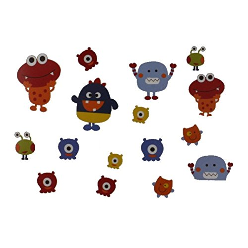 Graco Baby Monsters Wall Decals - 1