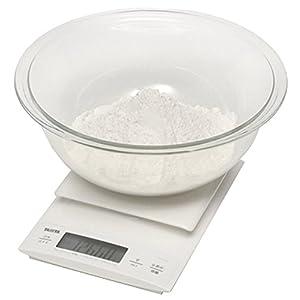 タニタ デジタルクッキングスケール 3kg(0.1g単位/300gまで) ホワイト KD-320-WH