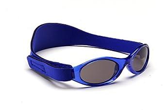 Baby Banz - Lunette de soleil ABBBL Ovale  - Garçon, Blue
