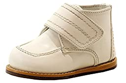 Josmo Infant Boy\'s First Walker White Fashion Leather Oxford Shoes Sz: 5