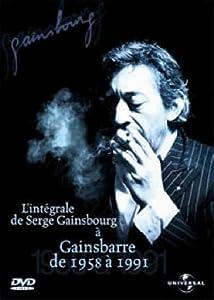 Serge Gainsbourg : Intégrale de Serge Gainsbourg à Gainsbarre de 1958 à 1991 - Édition 2 DVD