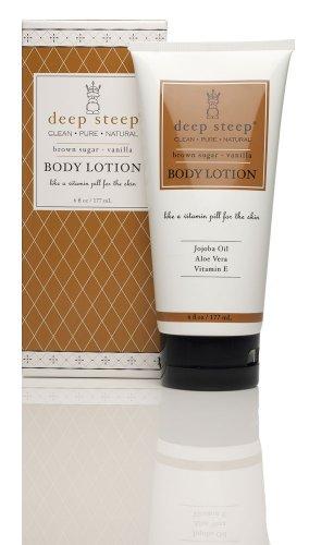Deep Steep Body Lotion, Brown Sugar Vanilla, 6 Ounce