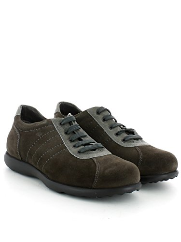 Sneaker in camoscio fango