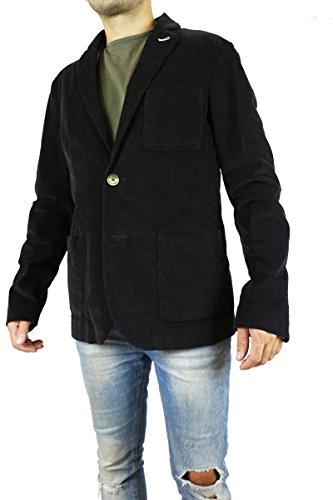 GEOSPIRIT giacca uomo tg. 50 testa di moro cotone AK416