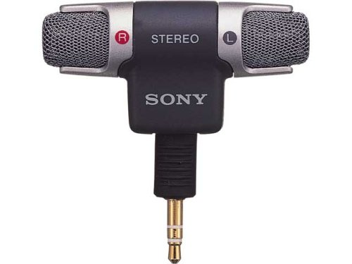 Sony Electret Condenser Stereo Microphone | Ecm-Ds70P (Japanese Import)