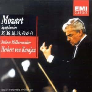 "Mozart - Symphonies nos 35, 36 ""Linz"", 38 ""Prague"", 39, 40 et 41 ""Jupiter"""