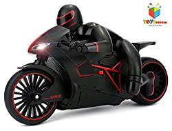 Toys Bhoomi Professional High Speed 2.4 GHz RC Motorcycle Bike with Built in Gyroscope & Bright LED Headlights