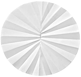 Whatman 10300143 1/2 Folded Filters, 110mm Diameter, 4-12 Micron, Grade 589/2 (Pack of 100)