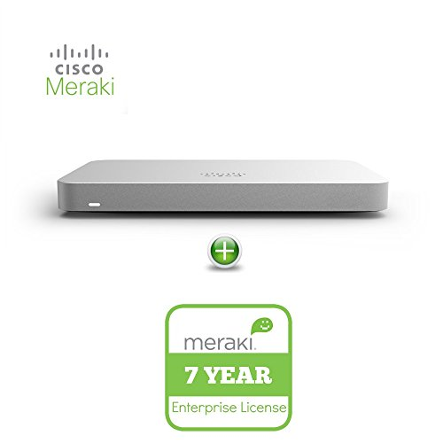 Cisco Meraki MX65-HW Cloud Mng'd Sec. Appliance + 7yr of Ente. Lic. and Supp.