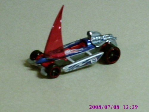 2008 Hot Wheels Mystery Cars #174 Bon Voyage w/ Black OH5SPs