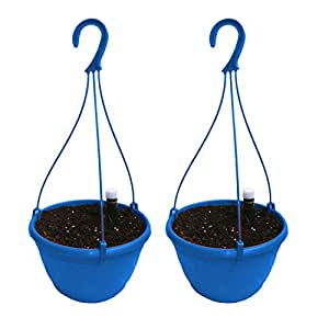 Pepper Agro Pepper Agro Self Watering Hanging Planter with Potting Soil