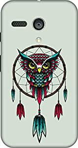 Uppercase Fashion Back Cover For Moto G