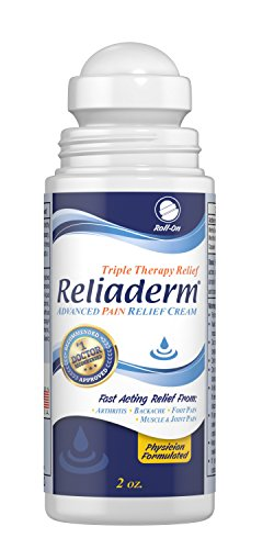 Reliaderm Topical Body Pain Relief Cream Topical Analgesic for Back pain, Knee Pain, Foot Pain and Joint pain