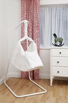 Poco Bambino delle nature Nest Movimento Letto Amaca pacchetto: Colore Bianco Include Due lenzuola con angoli e vai avanti / sacchetto di corsa