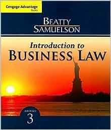 Business Law (Paperback))(2009): S. S. Samuelson J. F. Beatty: Amazon