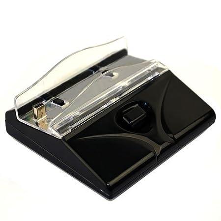 GTMax Black Desktop Charger Charging Station for Nintendo 3DS