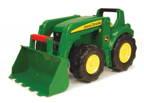"Toy / Game John Deere - 21"" Big Scoop Tractor With Real Steel Parts - Perfect For Outdoor Play - Made In China"