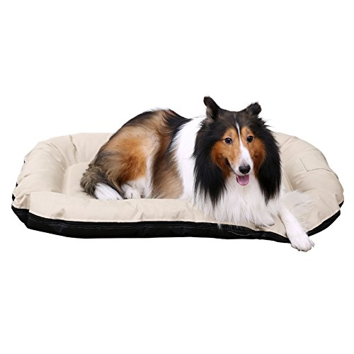 songmics panier lit chien dog bed coussin matelas pour chien xxl 120 x. Black Bedroom Furniture Sets. Home Design Ideas