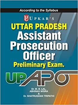 UP APO Uttar Pradesh Assistant Prosecution Officer Preliminary Exam price comparison at Flipkart, Amazon, Crossword, Uread, Bookadda, Landmark, Homeshop18