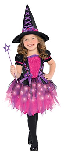 Children's Sparkle Witch Light Up Costume