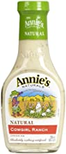 Annie39s Naturals Cowgirl Ranch Dressing 8 Ounce Pack of 24