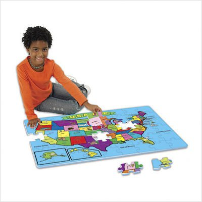 Cheap Educational Insights 54 Piece USA Foam Map Puzzle (B000GTFPF0)