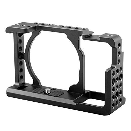 SmallRig Gabbia Fotocamera DSLR Stabilizzatore Supporto Rig 1661 per Sony A6000 / ILCE-6000, A6300 / ILCE-6300, Sony NEX 7