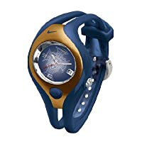 Nike Triax Swift Analog Soccer Federation Portugal Team Watch - Obsidian/Gold - WD0025-407 from Nike
