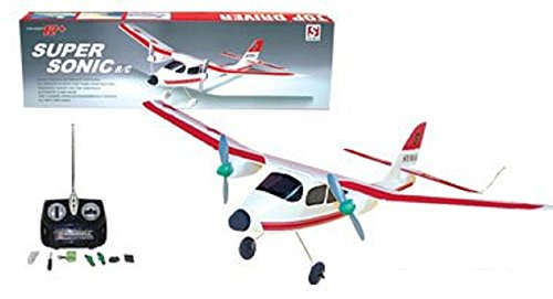 Super Sonic RC Model Airplane R/C 9399 Training Plane ARF Radio Control Aircraft primary