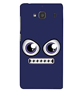 PRINTSWAG ANGRY SMILEY Designer Back Cover Case for XIAOMI REDMI 2S