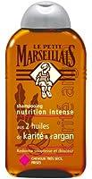 Le Petit Marseillais Shampooing Nutrition Intense Huile Karité d'Argan Cheveux Très Secs à Frises 250 ml Lot de 3
