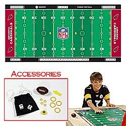 NFLR Licensed Finger FootballT Game Mat - Cardinals. Product Category: Toys & Games > Finger FootballT > NFL NFC