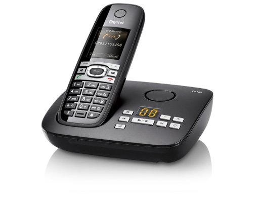 Gigaset C610A - Cordless phone w/ answering system & caller ID - DECT\GAP - piano black images